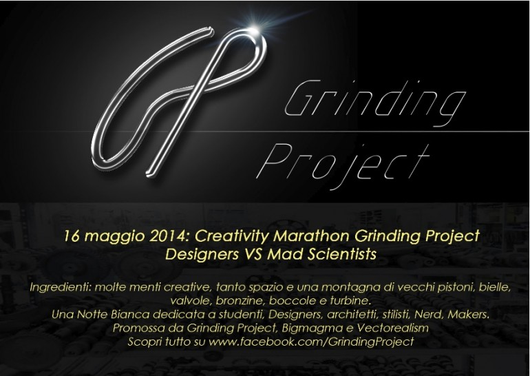 Cartolina maratona creativita 2014 fronte
